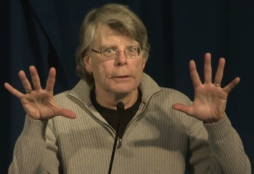 stephen king - conference presse paris ouhou