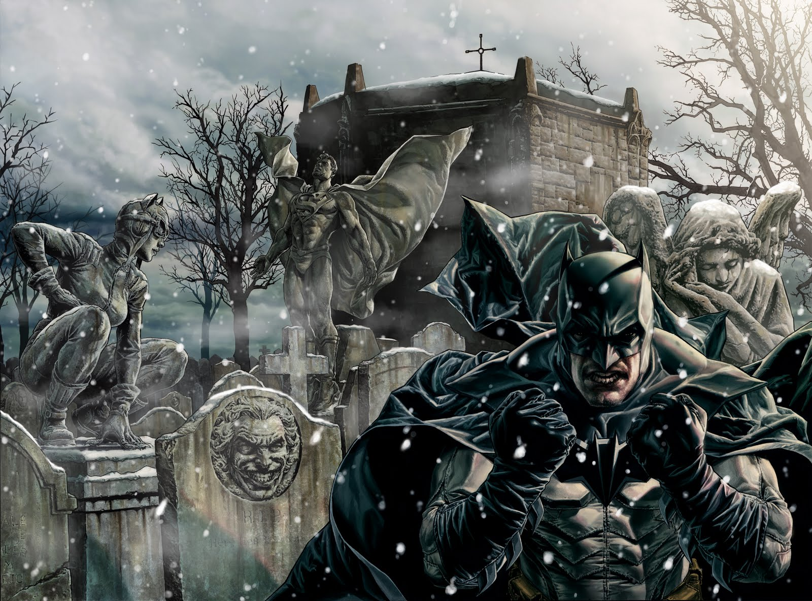 lee bermejo batman noel