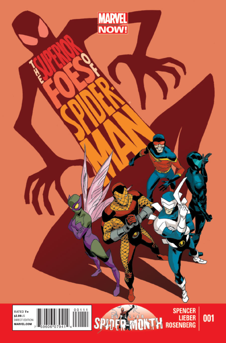 the superior foes of spider-man steve lieber