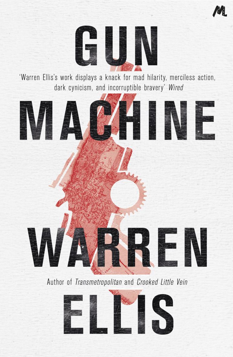 couverture originale du roman Gun Machine de Warren Ellis