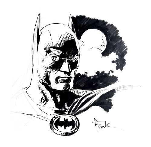 Batman dédicace Gary Frank