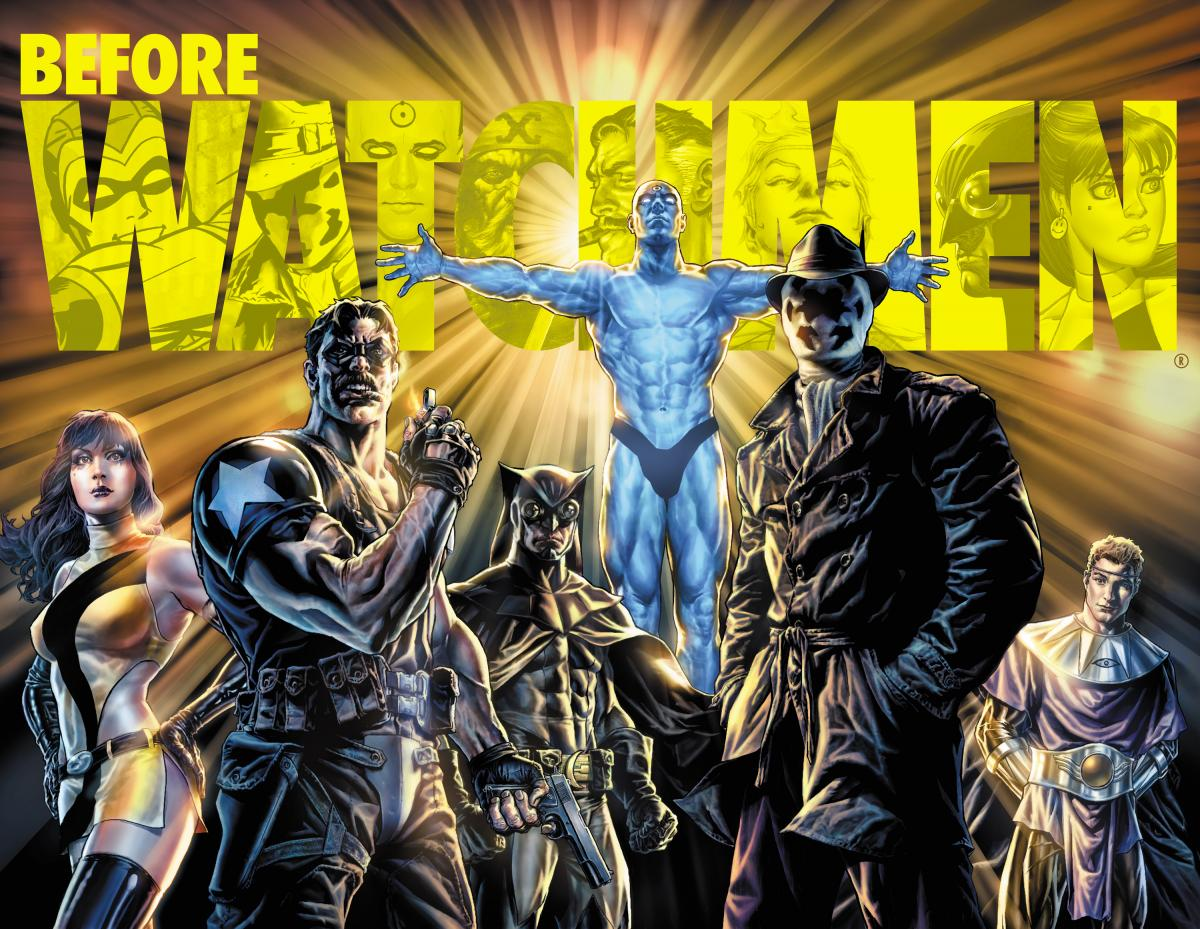 Before Watchmen JG Jones Le Comédien