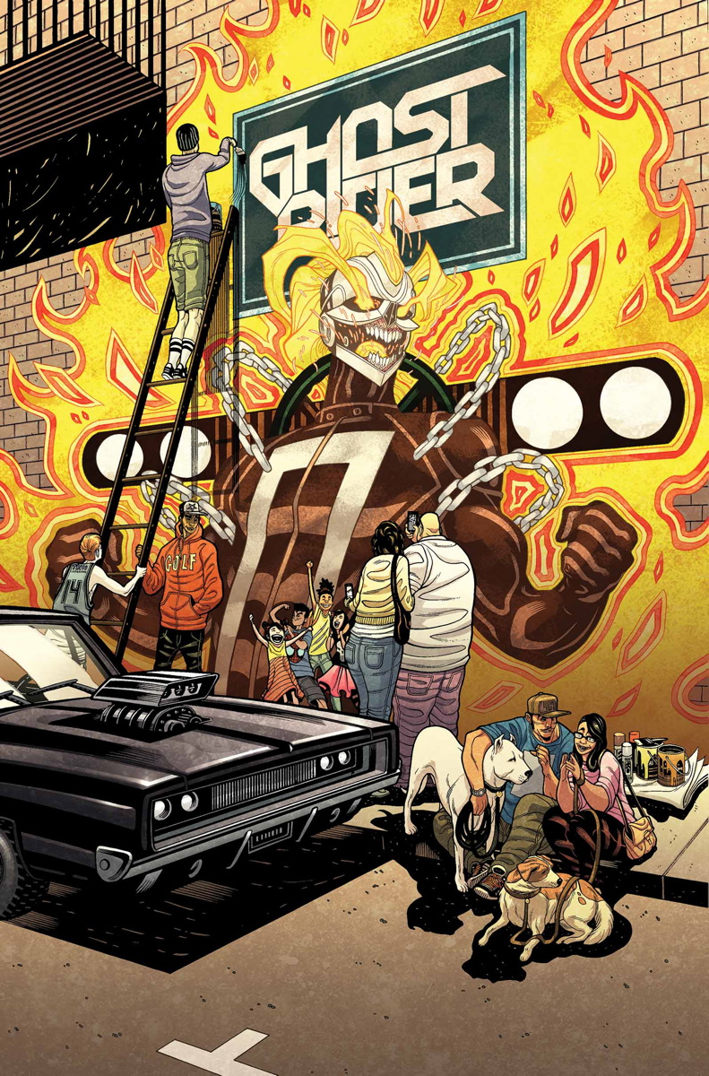 Tradd Moore All New Ghost rider Marvel Now