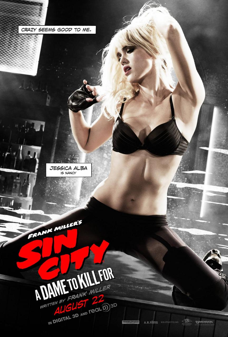 frank miller nancy jessica alba sin city