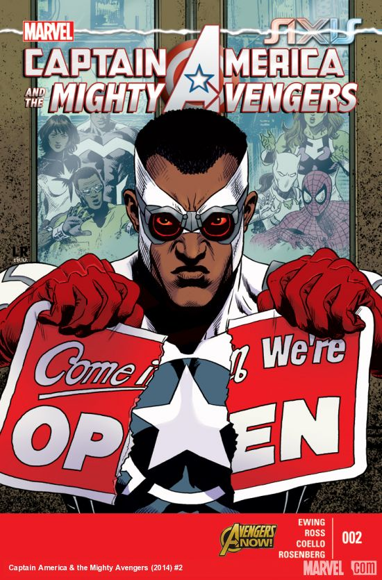 Al Ewing Captain America and the Mighty Avengers