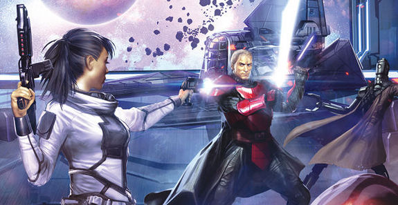 Gabriel Hardman Star Wars Legacy 2