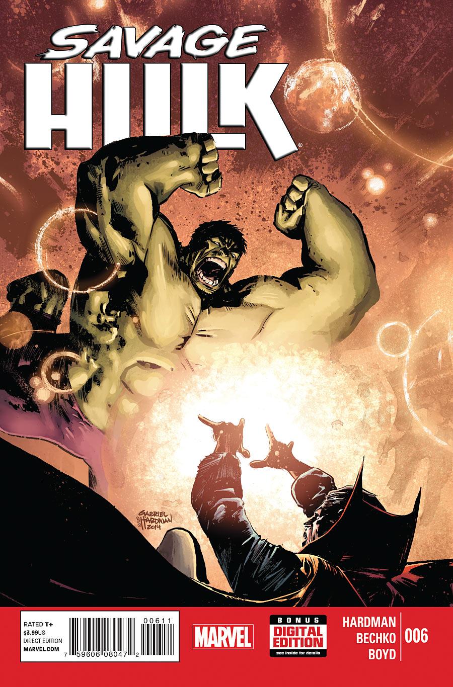 Corinna Bechko Savage Hulk