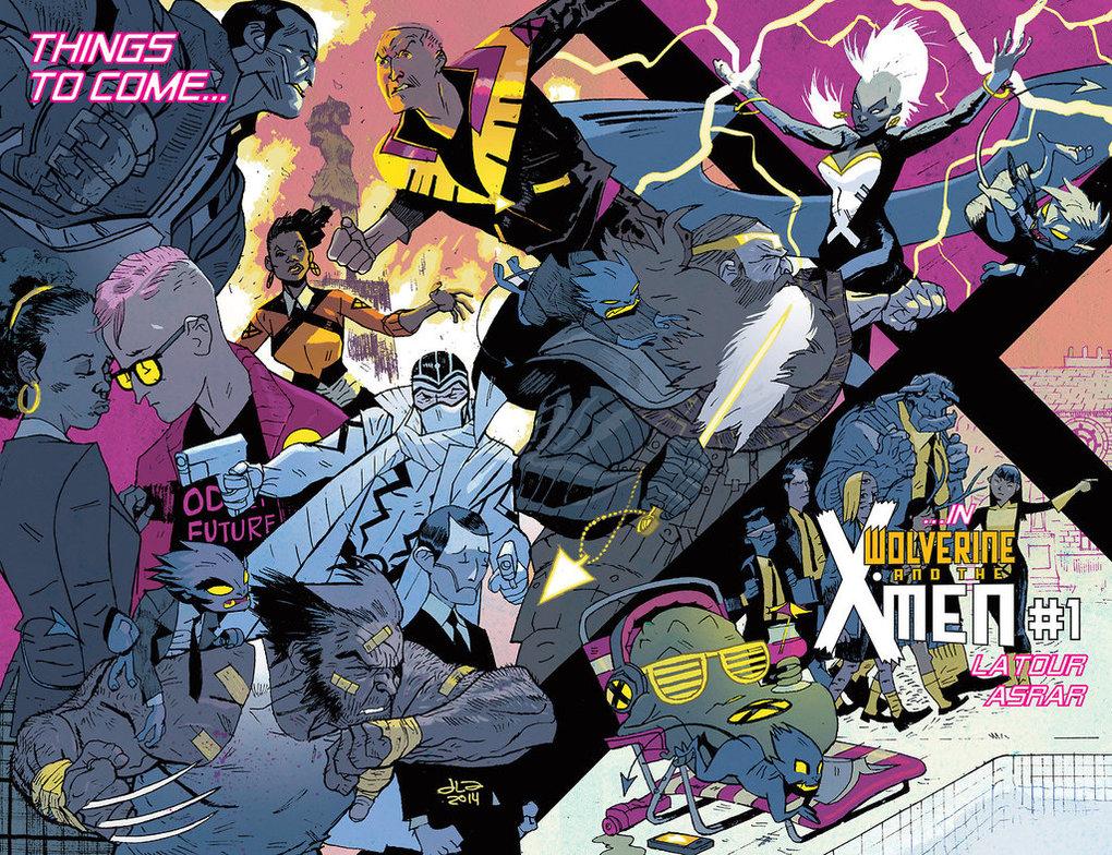 Jason Latour Wolverine & the X-Men