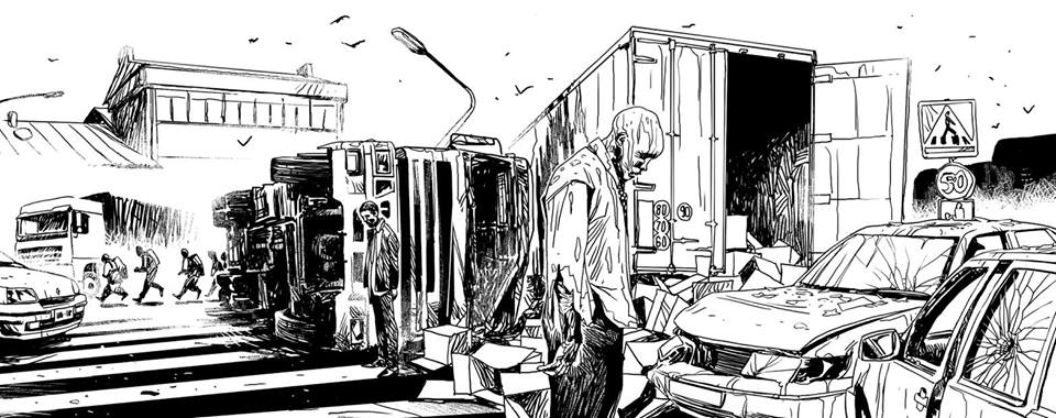 Zombies Néchronologies Arnaud Boudoiron