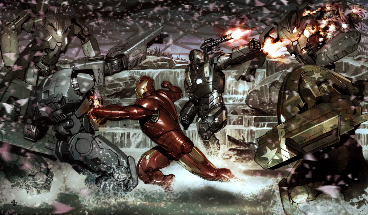 Iron Man Adi Granov