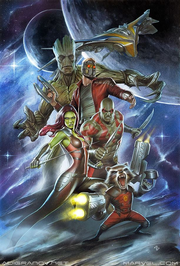 Adi Granov Guardians of the Galaxy