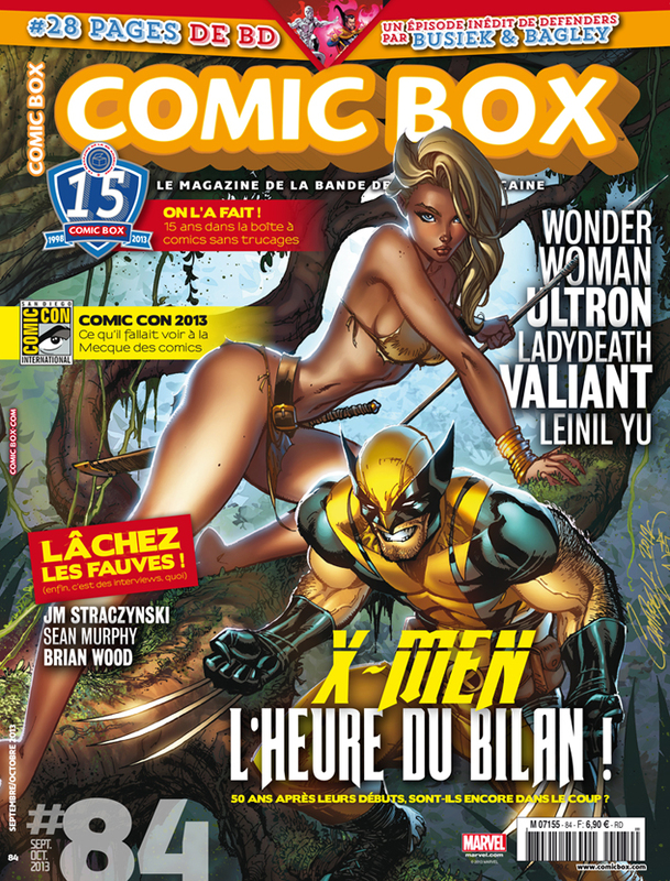 Comic Box Xavier Fournier