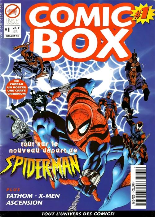 Comic Box n°1 Xavier Fournier