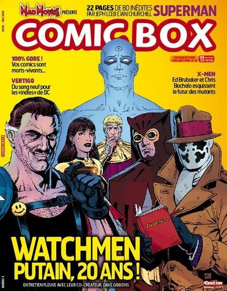 Comic Box Xavier Fournier