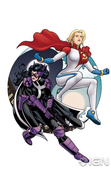 Power Girl Huntress Scott Koblish