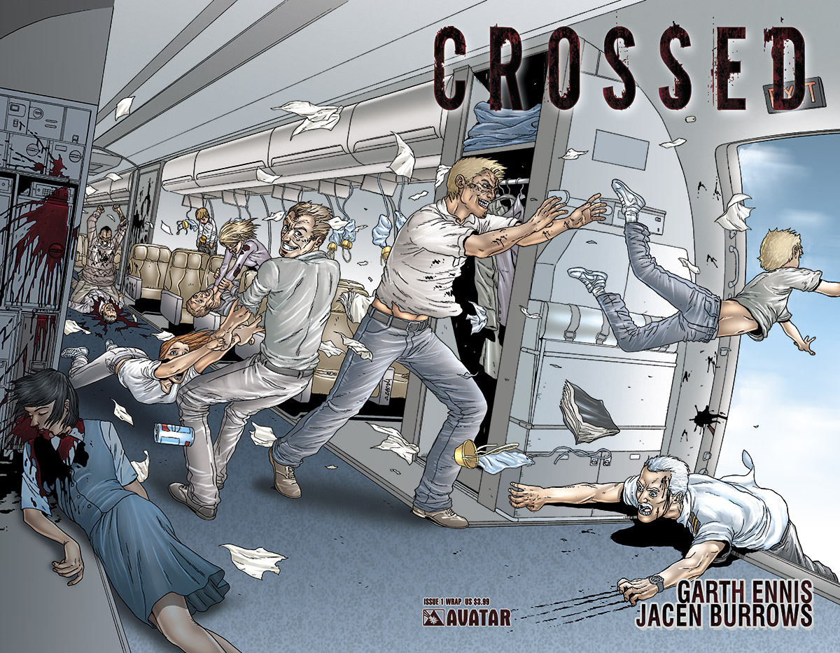 Jacen Burrows Garth ennis Avatar Press Crossed