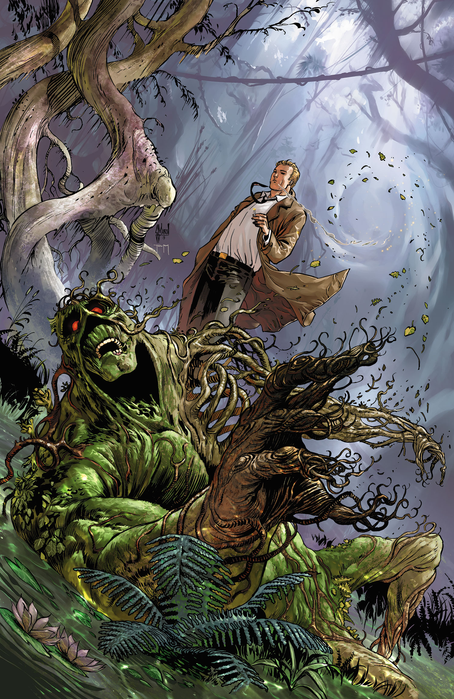 Charles Soule Swamp Thing