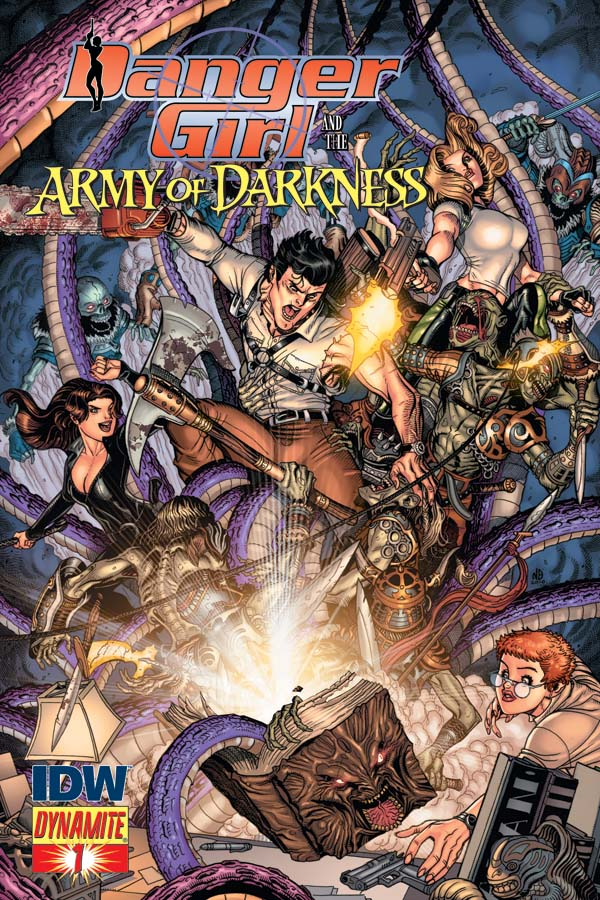 Nick Bradshaw Danger Girl Army of Darkness