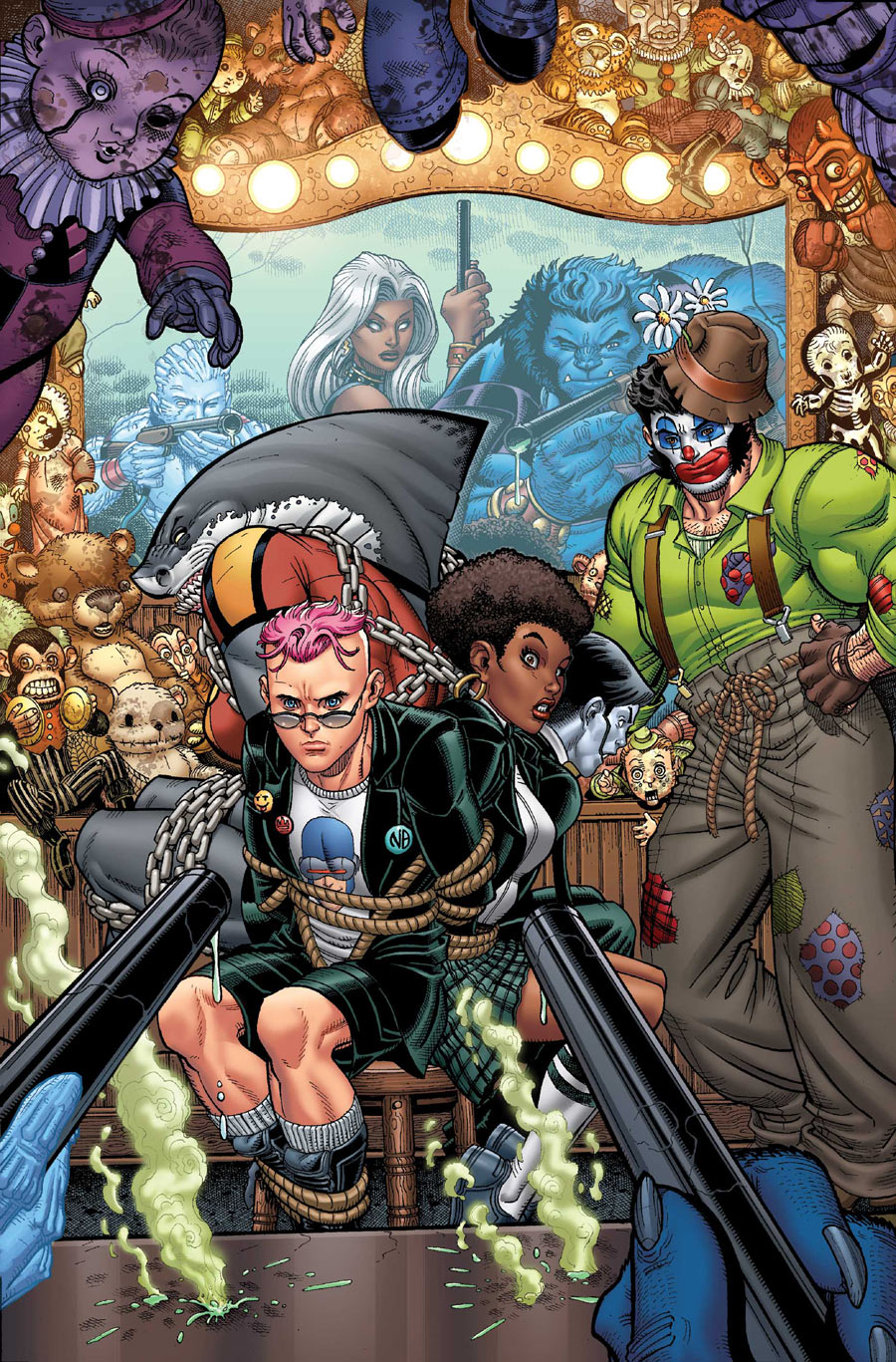 Nick Bradshaw Wolverine and the x-men