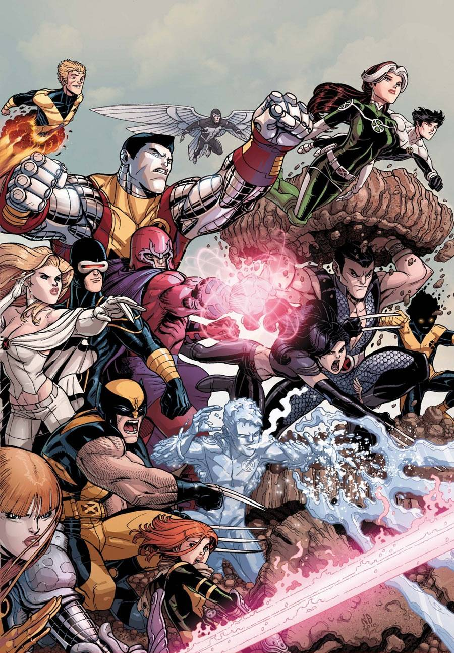 Nick Bradshaw X-Men