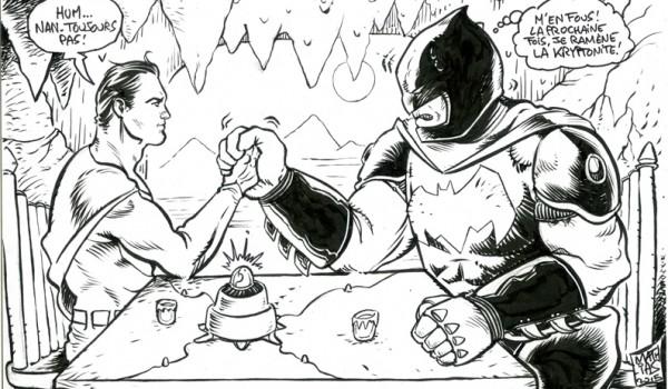 Batman Superman Jim Dandy