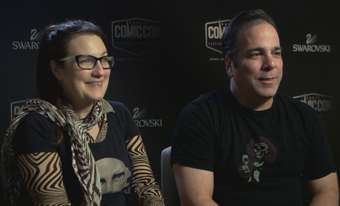 Amanda Conner Jimmy Palmiotti Comic Con Paris