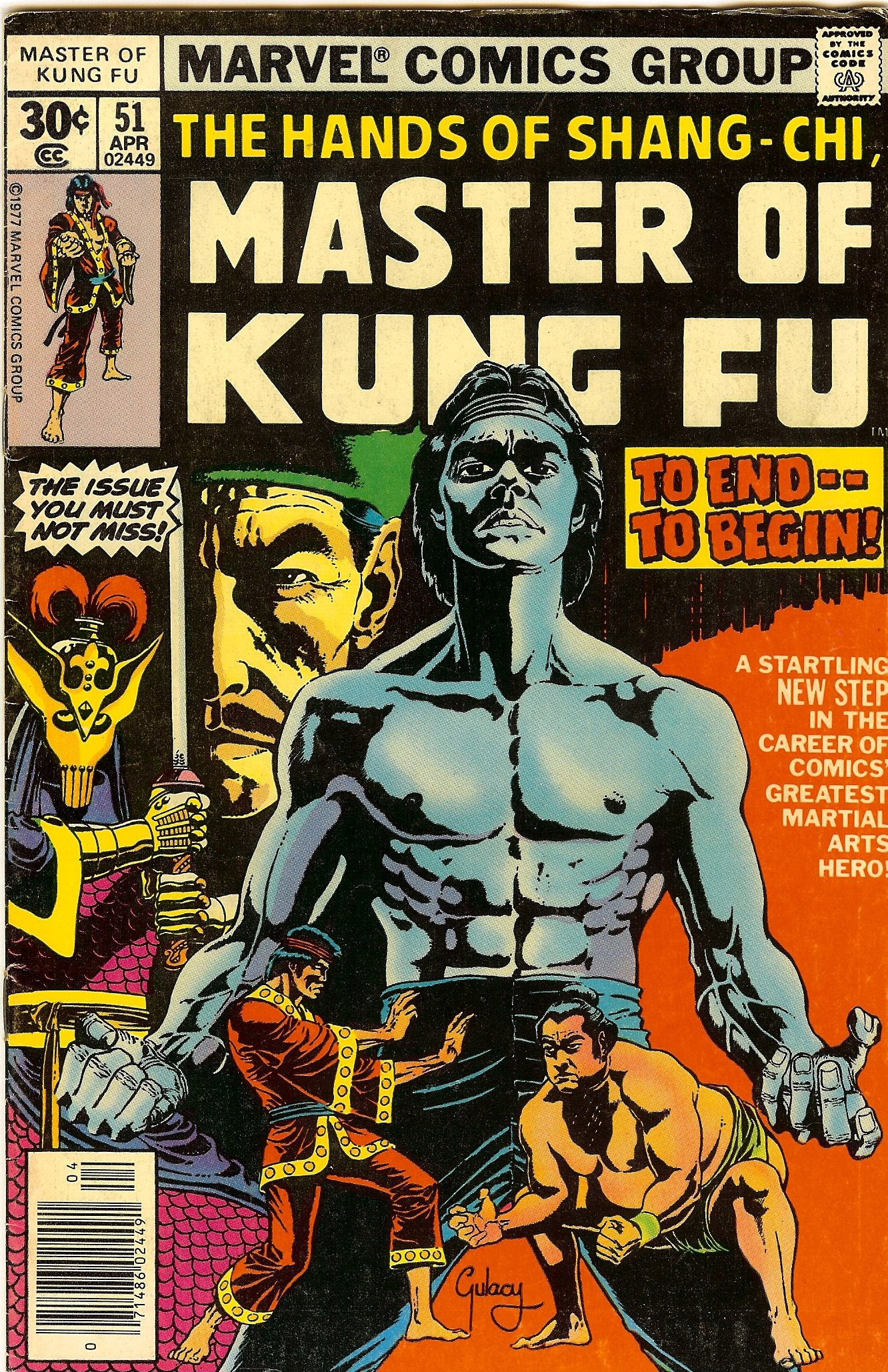 Paul Gulacy Master of Kung Fu