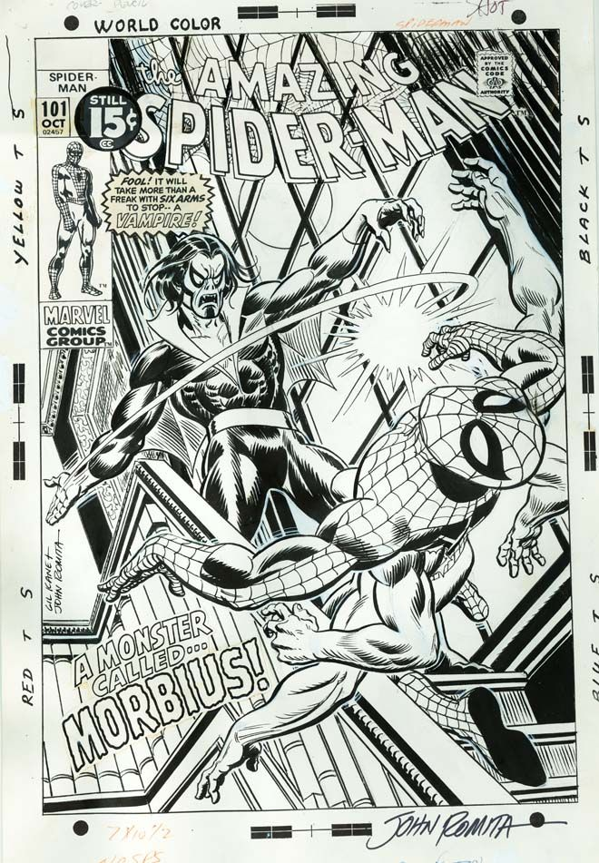Spider-Man Gil Kane John Romita Sr