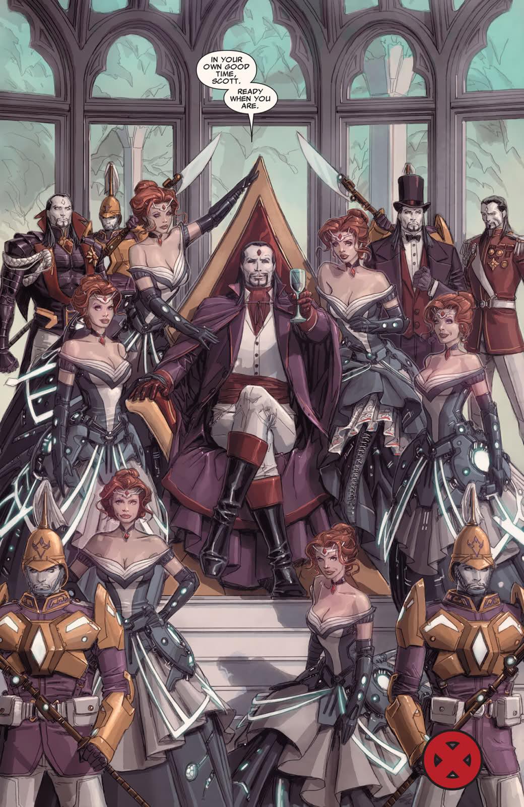 Kieron Gillen Uncanny X-Men Sinister