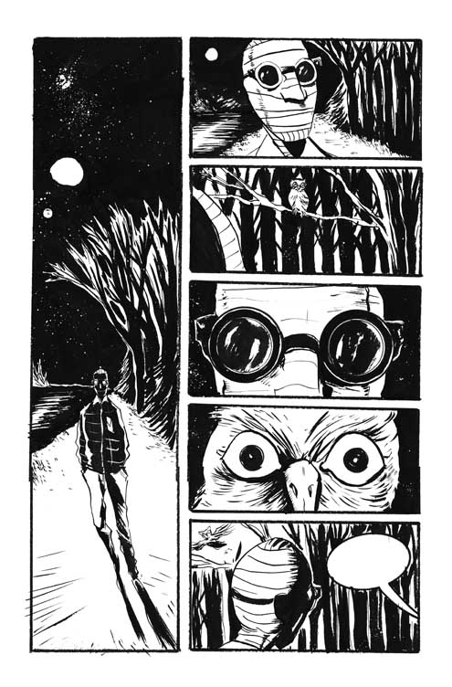 Jeff Lemire The Nobody