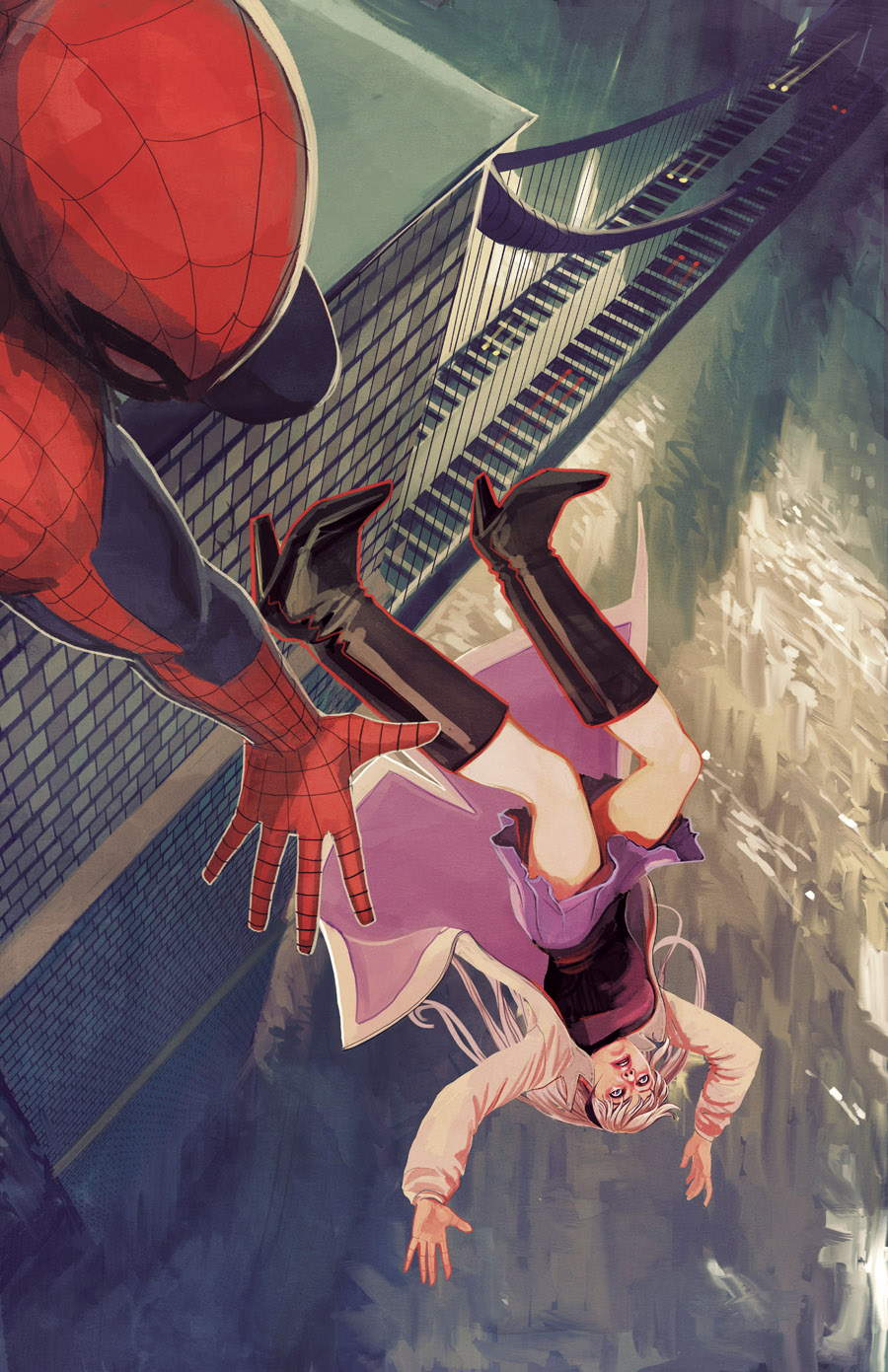 Amazing Spider-Man Stéphanie Hans