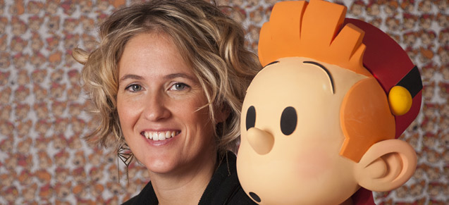 Florence Mixhel rédac'chef de Spirou