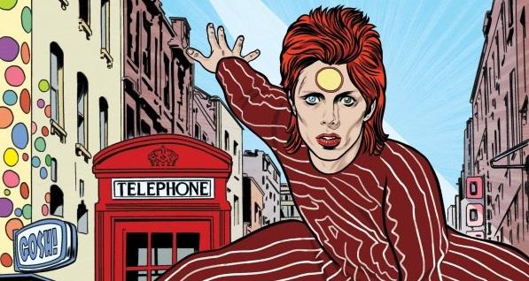 Un roman graphique sur David Bowie par Mike et Laura Allred