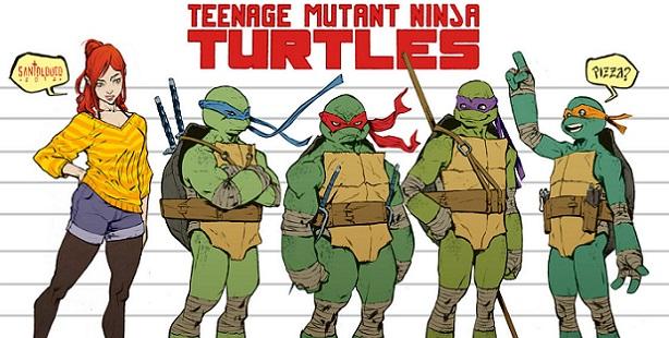 Les Tortues Ninja de retour en mars