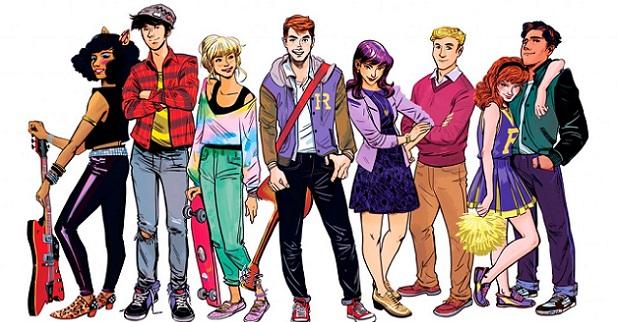 Les comics Archie envahiront l'Hexagone en 2018