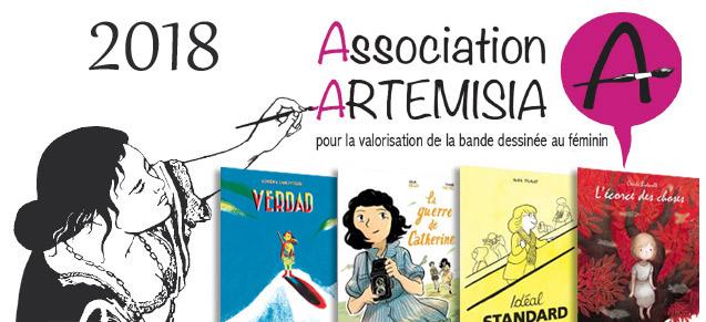 Artémisia 2018 : 4 prix ont été décernés