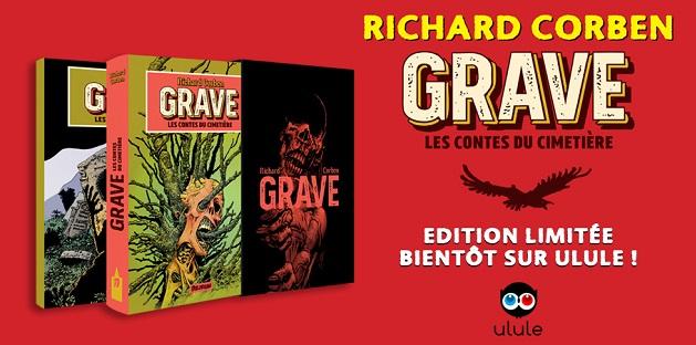 Le dernier Richard Corben en édition limitée sur Ulule prochainement !