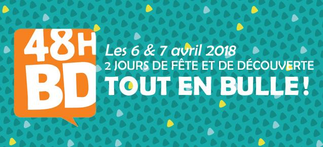 Les 48h BD, les 6 & 7 avril 2018