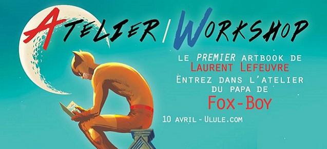 Laurent Lefeuvre lance son premier artbook sur Ulule dès le 10 avril !