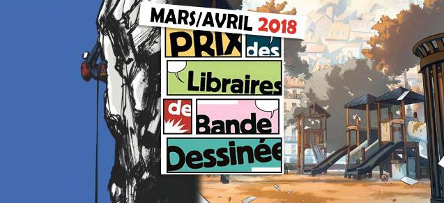 Prix des libraires, mars/avril 2018