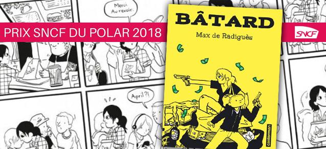 Bâtard, prix polar SNCF 2018