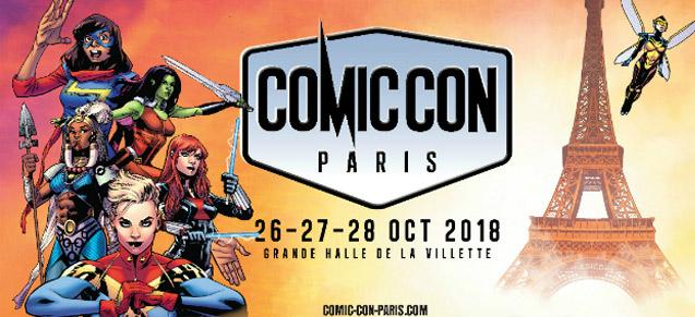 Paris est comics !
