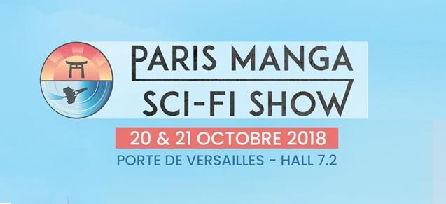 Paris manga sci-fi show
