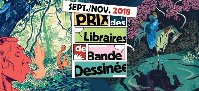 Prix des libraires Sept-Nov 2018