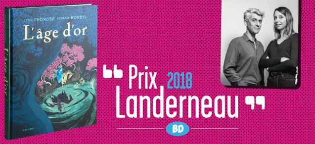 L'âge d'or, prix Landerneau 2018