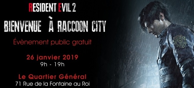 Bienvenue à Raccoon City