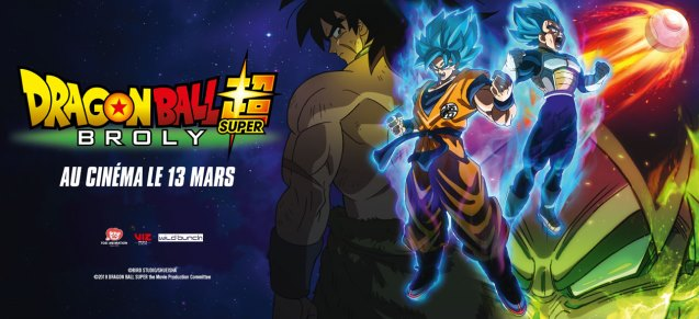 Dragon Ball Super : Broly au cinéma le 13 mars