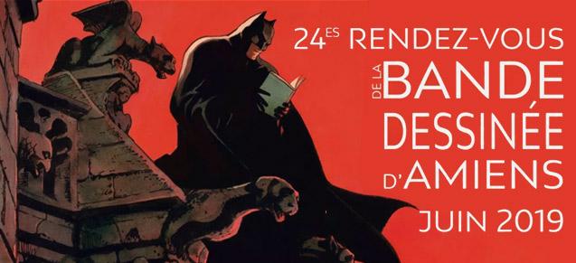 24èmes rendez-vous de la BD d'Amiens