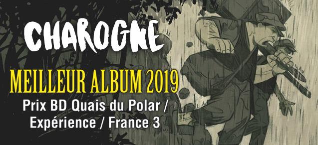 Charogne, prix BD Quai du Polar 2019