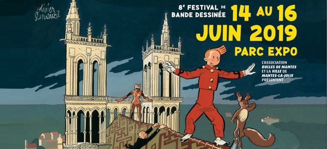 Festival BD Bulles de Mantes